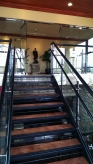 I live upstairs; the bottom is the event space.
