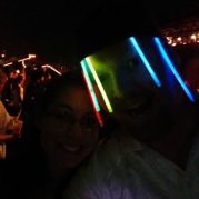 Don't worry, we have many, many more glow sticks.
