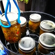 Finished Zucchini Relish