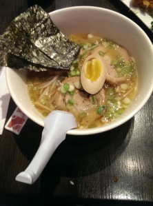 I dominated the entire bowl of ramen!